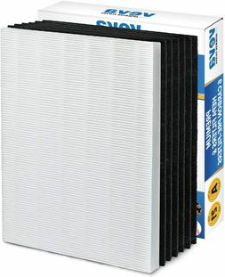 VEVA HEPA Filter with 6 Activated Carbon Pre Filters Compati